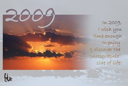 My best wishes for 2009!